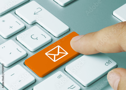 Leinwanddruck Bild e-mail