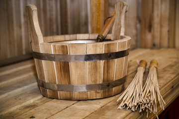Sauna, bath accessories