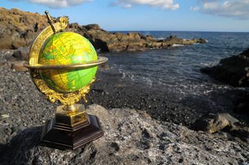Vintage Globes Planet Earth