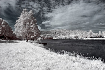 Infrared Lima river