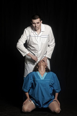Mad doctor and nurse