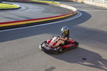 Carting sur piste