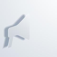vector modern loudspeaker background