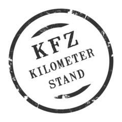 sk279 - KFZ-Stempel - Kfz Kilometerstand kfz40 g2767