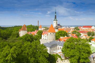 View from Patkuli viewing platform, Tallinn, Estonia