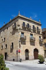 Medieval architecture in Ciudad Rodrigo, Spain
