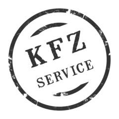 sk283 - KFZ-Stempel - Kfz Service kfz44 g2771