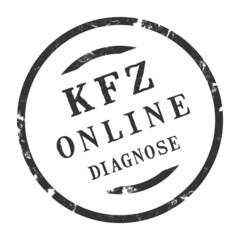 sk284 - KFZ-Stempel - Kfz Online-Diagnose kfz45 g2772