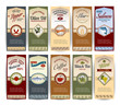 Food retro banners - 75168721