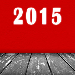 red wall texture 2015 text background and wood floor grey color