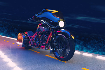 Night Motorcycle