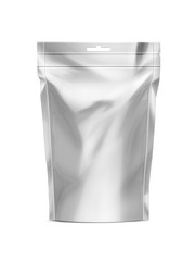 White Blank Doy-pack, Doypack Foil Food Or Drink Bag Packaging