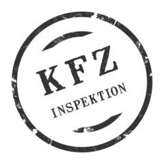 sk306 - KFZ-Stempel - Kfz Inspektion kfz67 g2794