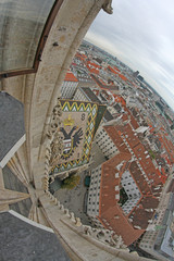 view of the Vienna from the Bell Tower of the Cathedral of St. S
