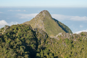 The Pyramid mountains in Chiang-dao national park,Thailand.
