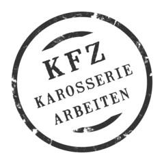 sk312 - KFZ-Stempel - Kfz Karosseriearbeiten kfz73 g2800