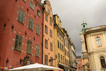Stockholm: the streets of the Old Town