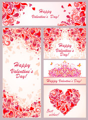 Templates for Valentines day