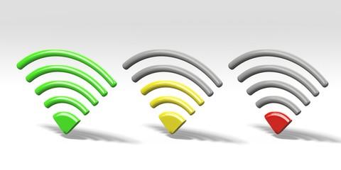 Potenza segnale wireless