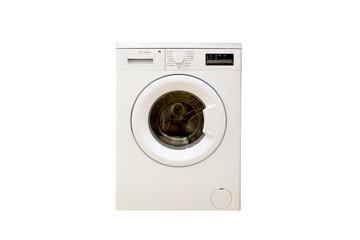washing machine isolated on a white background