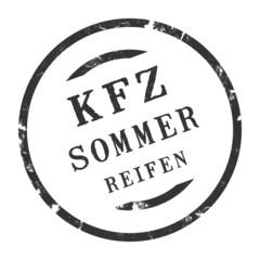 sk331 - KFZ-Stempel - Kfz Sommerreifen kfz92 g2819