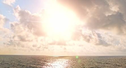 Heaven Clouds Ocean Sea Travel Optimism Beautiful Scenery