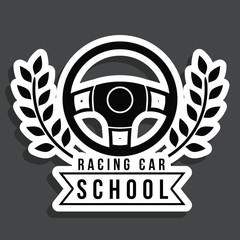 Racing design,vector illustration.