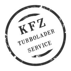sk345 - KFZ-Stempel - Kfz Turbolader-Service kfz106 g2833