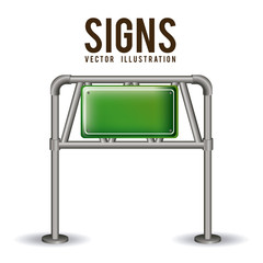 Signs design,vector illustration.