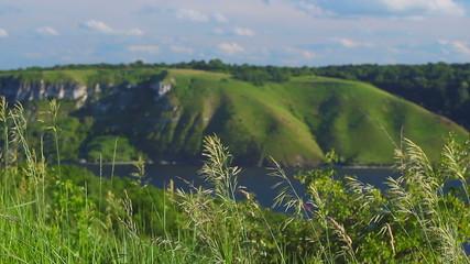 grass, hills