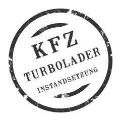 sk351 - KFZ-Stempel - Kfz Turbolader-Instandsetzung kfz112 g2839