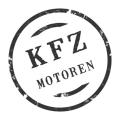 sk352 - KFZ-Stempel - Kfz Motoren kfz113 g2840