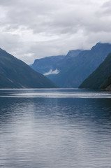 Sailing in Geirangerfjord