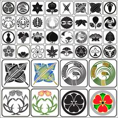 Japanese crests set 3