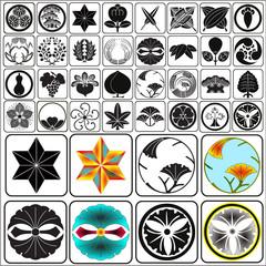 Japanese crests set 4