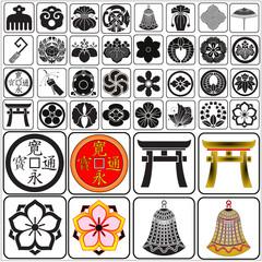 Japanese crests set 5