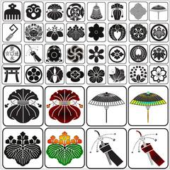 Japanese crests set 6