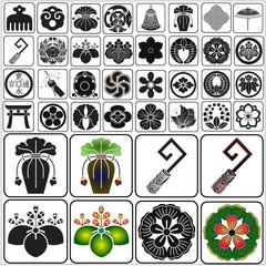 Japanese crests set 8
