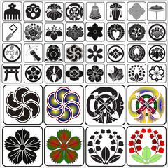 Japanese crests set 7