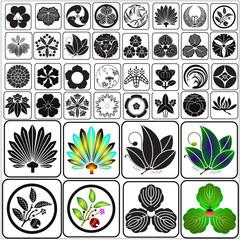 Japanese crests set 9