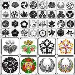 Japanese crests set 10