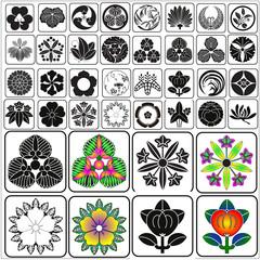 Japanese crests set 11
