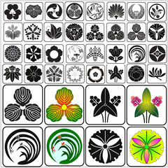 Japanese crests set 12