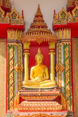 buddha statue at Wat Ban Ma, Bang pa han, Ayutthaya
