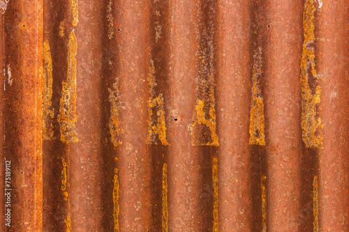rusty galvanized iron  texture