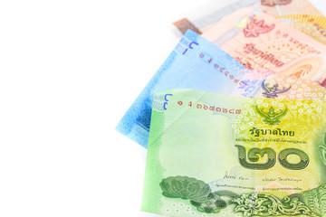 Heap of Thai baht Bills