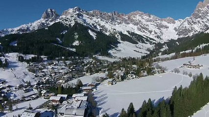alps, Mountain snow und sun austria winter sport