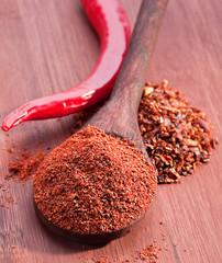 Red chili pepper spice