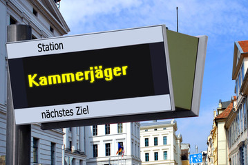 Anzeigetafel 7 - Kammerjäger