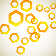 abstract background: polygon